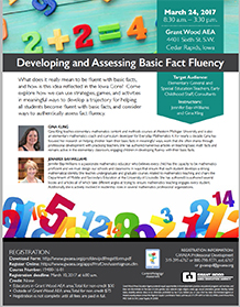 Developing and Assessing Basic Fact Fluency