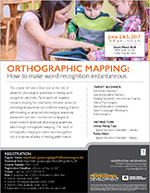 Orthographic Mapping