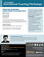 Jim Knight's Instructional Coaching Workshops Focus on Teaching