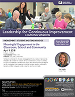Meaningful Engagement in the Classroom, School and Community