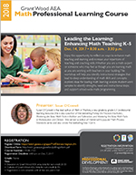 Leading the Learning: Enhancing Math Teaching K-5, Dec. 14, 2017
