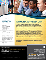Substitute Authorization Class