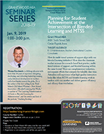 Planning for Student Achievement at the Intersection of Blended Learning and MTSS