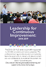 2018-2019 Leadership for Continuous Improvement