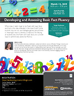 PDeveloping and Assessing Basic Fact Fluency