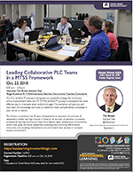 Leading Collaborative PLC Teams in a MTSS Framework with 