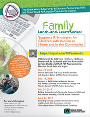 Family Lunch and Learn Series