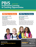 PBIS - Professional Learning & Coaching Opportunities 